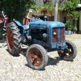 Trattore d'epoca Fordson major 1956