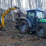 Trattore forestale Deutz fahr 430 agrifarm
