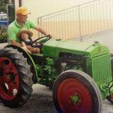 Trattore d'epoca Motomeccanica Balilla