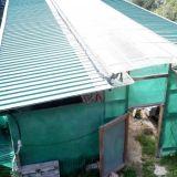 Capannone-tettoia  In ferro smontabile
