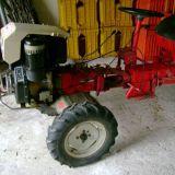 Motozappa  12 cv diesel durso