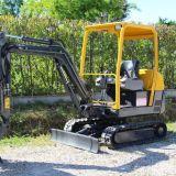 Mini escavatore Volvo ec15 usato