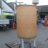 Cisterna  Vetroresina lt 2000 con gambe e carrucola