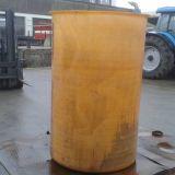 Cisterna in vetroresina  Vemar lt 2000 con portella