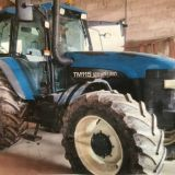 Trattore New holland  Tm115