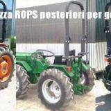 Telai sicurezza  rops per trattori gommati