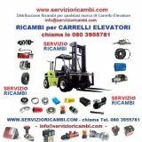 Servizio ricambi  Carrelli elevatori - muletti e transpallet