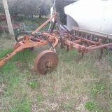 Estirpatore  7 angoli idraulico con sollevatore carrelato