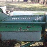 Pressa John deere 224t
