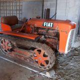Trattore cingolato Fiat 25 petrolino