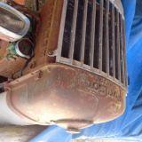 Trattore d'epoca Fordson major Da restaurare carrozzeria