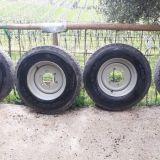 5 ruote  9.5r17.5 cerchio rinforzato