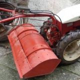 Motozappa  Carrarino con aratro e fresatrice