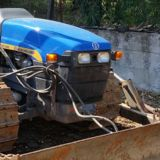 Trattore cingolato New holland 75m