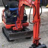 Mini escavatore  Hitachi ex15 mod 2