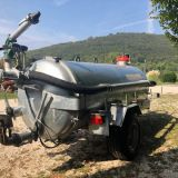 Rimorchio agricolo  rc40 spandiliquame lochmann
