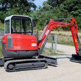 Mini escavatore  Neuson 38z3 cingolato usato