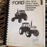 Libro officina Ford Tw5, tw15, tw25, tw35
