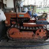 Trattore cingolato Fiat 411c