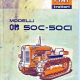 Trattore cingolato Fiat Om 50