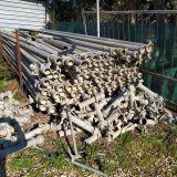 100 tubi  per irrigazione d 80