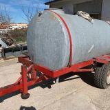 Carrello  Trasportatore con cisterna