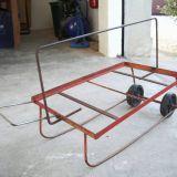 Carrellini  Con ruotine in ferro