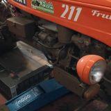 Trattore d'epoca Fiat 221 frutteto