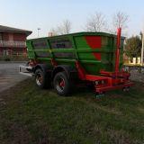Rimorchio trasporto uva Ebro Bertuola bvu5.5