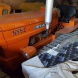 Trattore cingolato Fiat 555 stretto