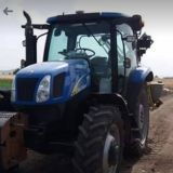 Trattore New holland  Ts 110a delta