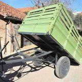 Carro agricolo  2 ruote ribaltabile idraulico