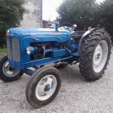 Trattore d'epoca Fordson major Super major