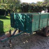 Carro agricolo  2 ruote ribaltabile