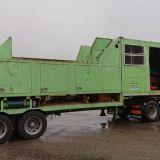 Impianto triturazione  Biomassa compost