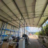 Capannone tettoia  Struttura in acciaio zincato