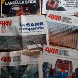 Brochure trattori Fiat Varie,riviste, same