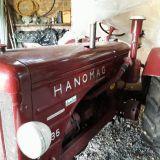 Trattore d'epoca Hanomag R35