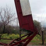 Vasca carrello  Per uva 15 quintali