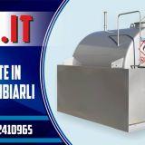 Serbatoio nuovo  Diesel tank fuel lt.3000