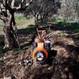 Motozappa Lombardini 14 cv diesel