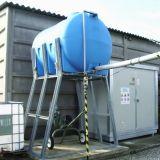 Cisterna  Pvc per decantazione acqua