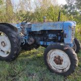 Trattore d'epoca Fordson Super major 4x4