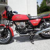 Permuto moto  guzzi v50 monza