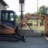 Mini escavatore Case cx36b