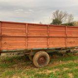Rimorchio agricolo  Bicchi ribaltabile posteriore 50ql