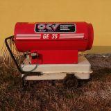 Generatore mobile  Ge 35 aria calda