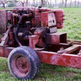 Carrello  Con ruote trainabile