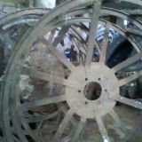 Coppia ruote Fiat 211-215-250-300 a gabbia