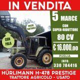 Trattore Hurlimann  H-478 prestige